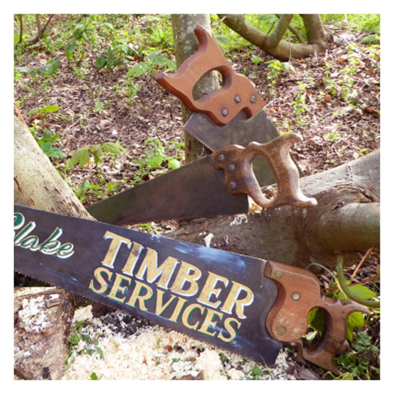 Leigh Barton - Work in the timber yard