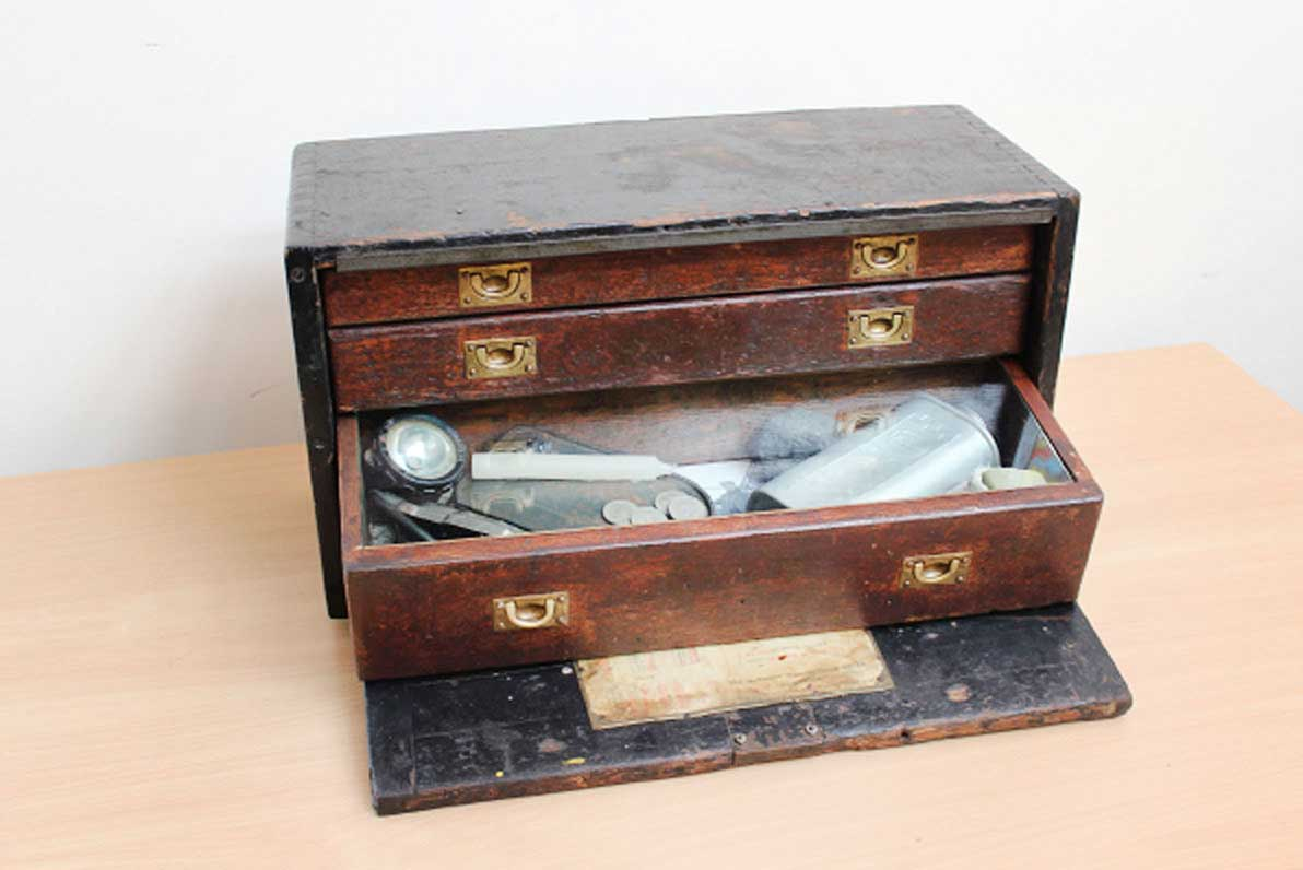 Rachel Grevatte Exhibition - Curiosity Cabinet