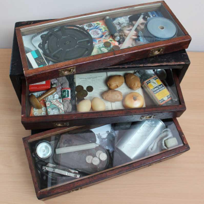 Rachel Grevatte Exhibition - Treasures from the past