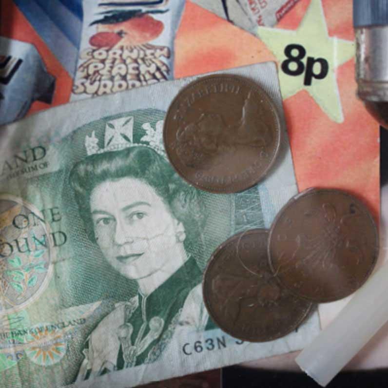 Rachel Grevatte Exhibition - Old money