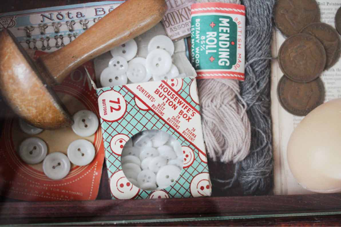 Rachel Grevatte Exhibition - Make do and mend